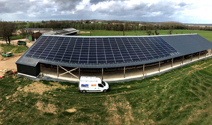 Installation solaire photovoltaïque réalisée par IEL