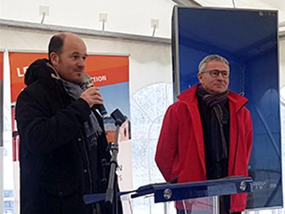 Ronan Moalic, Directeur Général d'IEL au micro