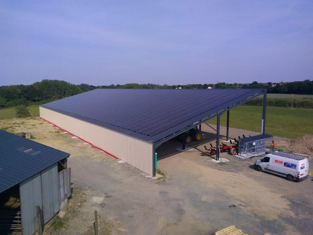 Bâtiment solaire de la FS Orvoir